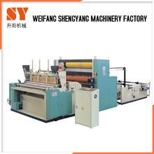 Toilet Paper Manufacturing Rewinding Machine