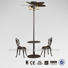 decorative Outdoor Stand Fan with light