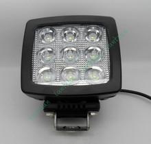 12v 24v high power 60w square led work light, cars high intensity led light, led car head worklight