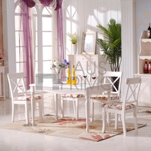 Hongjin Simple Wood Dining Room Furniture Table and Chair Sets