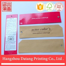 New design china cheap kraft paper hangzhou Datang clear plastic paper business card