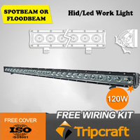 HOT!!!factory supply directly 120W fog lights driving led for 4x4 LED OFF ROAD LIGHT BAR
