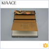 PVC cover women kraft paper recycled notebook