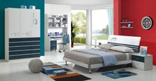 high glossy painting children bedroom furniture