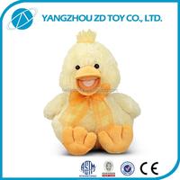 fashion new style soft polyester plush yellow duck