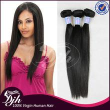 Fast shipping Cheap weave hair online 100% virgin human Hair, 3 bundles Straight hair weaving , Brazilian Virgin Hair Weave
