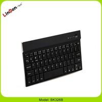 Ultrathin azerty Bluetooth Wireless Keyboard for ipad