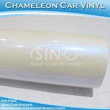 bianco perla camaleonte cambiamento di colore pellicola 3m auto imballaggio