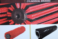 Cylindrical Brushes Mechanical Sweeper Brooms