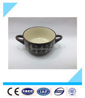 new small ceramic soup bowl design,ceramic soup bowl with handle