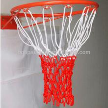 High quality three- colored nylon basketball nets