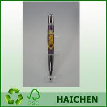 Popular OEM Design Numeral wood pen