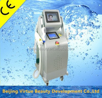 Salon used multifunction 3 in RF+ipl laser hair removal and tatto removal