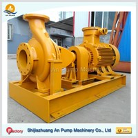 specification of centrifugal pump for water