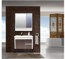 2015 Double basin modern bathroom vanity , MDF bathroom cabinet , bathroom furniture