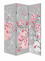 china factory environmental protection waterfall folding screen soundproof room divider