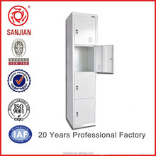 4 Door Single Locker Steel Locker Filing Cabinet Office Furniture