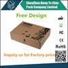 China Factory Free Sample custom size cardboard parcel box