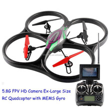 5.8G FPV V666 Large 2.4G RC Quadcopter with Camera 720P and 6-Axis MEMS Gyro