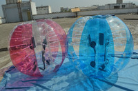 big discount bumper ball/custom sports balls/inflatable human sized hamster ball