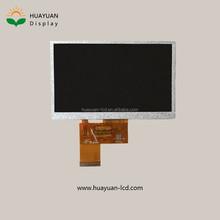 "5"" 480*(RGB)*272 WQVGA tft lcd display 24bits rgb interface"