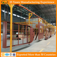 Best Price kiosk automatic powder coating line supplier