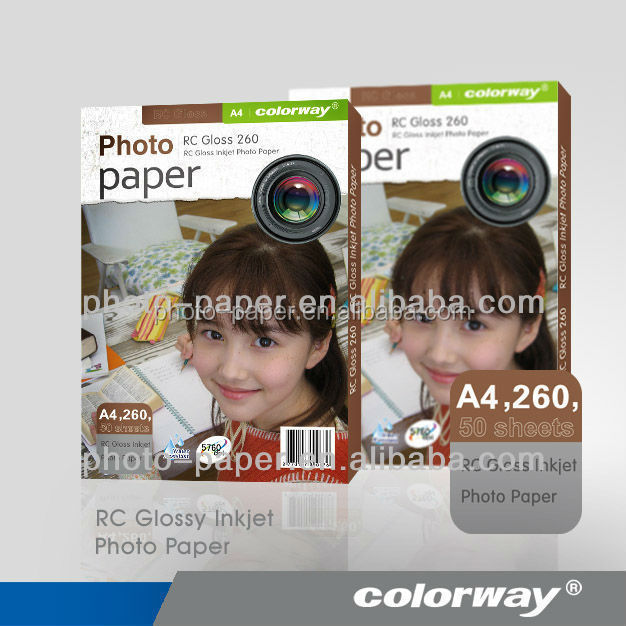 Original 260g Lucky Photo Paper Premium RC Photo Paper