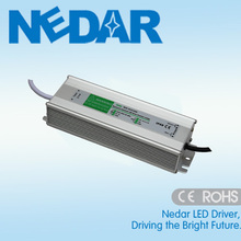 high power 100w led driver DC 24V dual output and AC 110-240v input for dimmable led strip Lighting