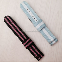 2 parts speed release spring bar changeable watch strap nylon strap zulu nato watch straps