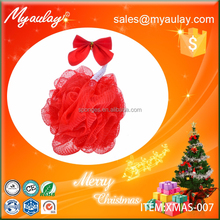 2015 funny christmas gifts , pink facial sponge XMAS-007