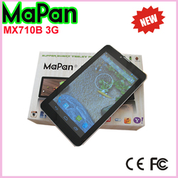 hot new products for 2015 MaPan tablet 7 inch MTK8312 dual core wifi phone tablet built in 3G