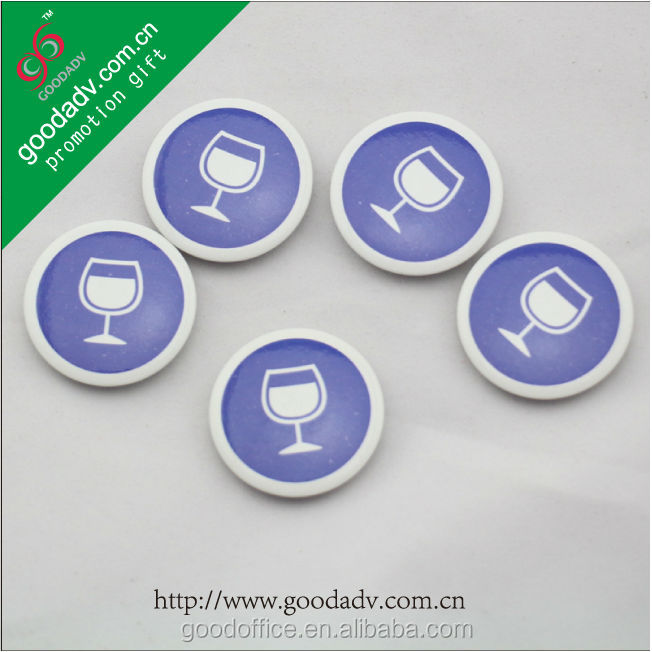 2015 New arrival round tin magnet badge