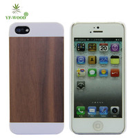 Walnut/cherry/rose/bamboo/maple For Iphone5 5s Durable Carving Wooden Back Case Cover