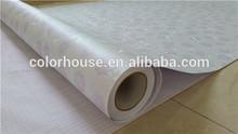 PVC impresa flor auto adhesivo vinilo de pared para las habitaciones de los niños