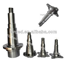 OEM/ODM forged trailer axle spindle