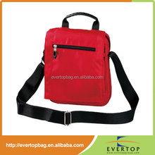 Unique style custom fits most tablets red shoulder bags