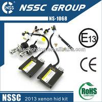 2013 NSSC xenon hid kit h7 35W/55W 4300k 6000k 8000k 1000k