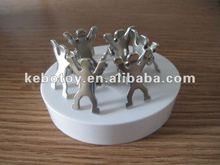 2012 newest popular gift magnetic person clip sculpture office gift