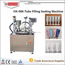 Semi Automatic Plastic Tube Filling Sealing Machine Pack Sealer