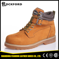New designed high-cut steel toe heavy duty safety shoes for men FD6209