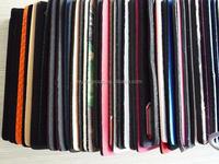 Chiffon polyester fabric composite foam sheet