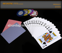 wholesale cheap promotional custom rfid playing cards plastic display case