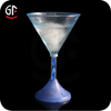 Hot New Products For 2015 Wedding Favours Wholesale Flashing Martini Glass