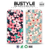 3D Cherry flowers custom design case for Apple iPhone 5s 6 6s plus with high quality ABS shell case