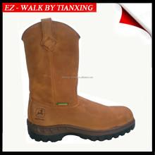 Steel toe Waterproof work boots with PU/TPU Outsole