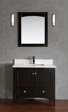 American & Canadian style Smart Modern Solid Wooden Bathroom Mirror Cabinet,Bathroom Vanity Cabinet