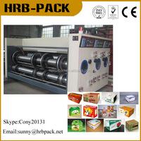 Corrugated Paperboard Flexo Ink Printing Grooving Machine/Cardboard Printer Machine/Carton Box Forming Machine