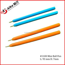 Mini Plastic Ball point pens for horse race or casino and promotion