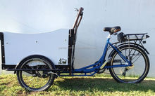 Electric bike front cargo trike family cargo bike for passenger