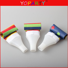 Plastic PP Party horn and PP jumbo blowout supplies gift or toys